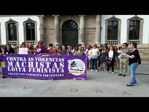 Pontevedra, en pé contra as violencias machistas