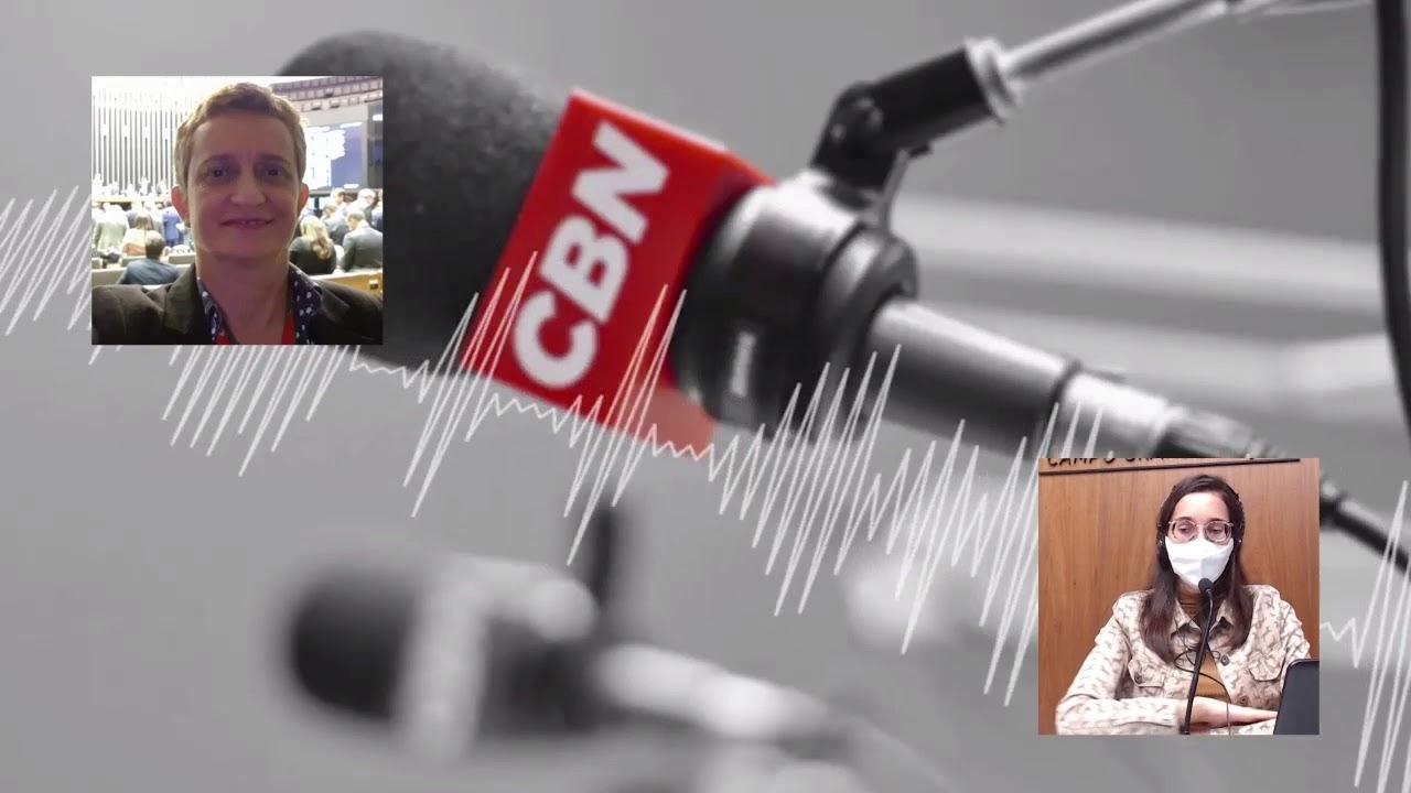 Programa CBN Campo Grande (22/03/2021): com Loraine França