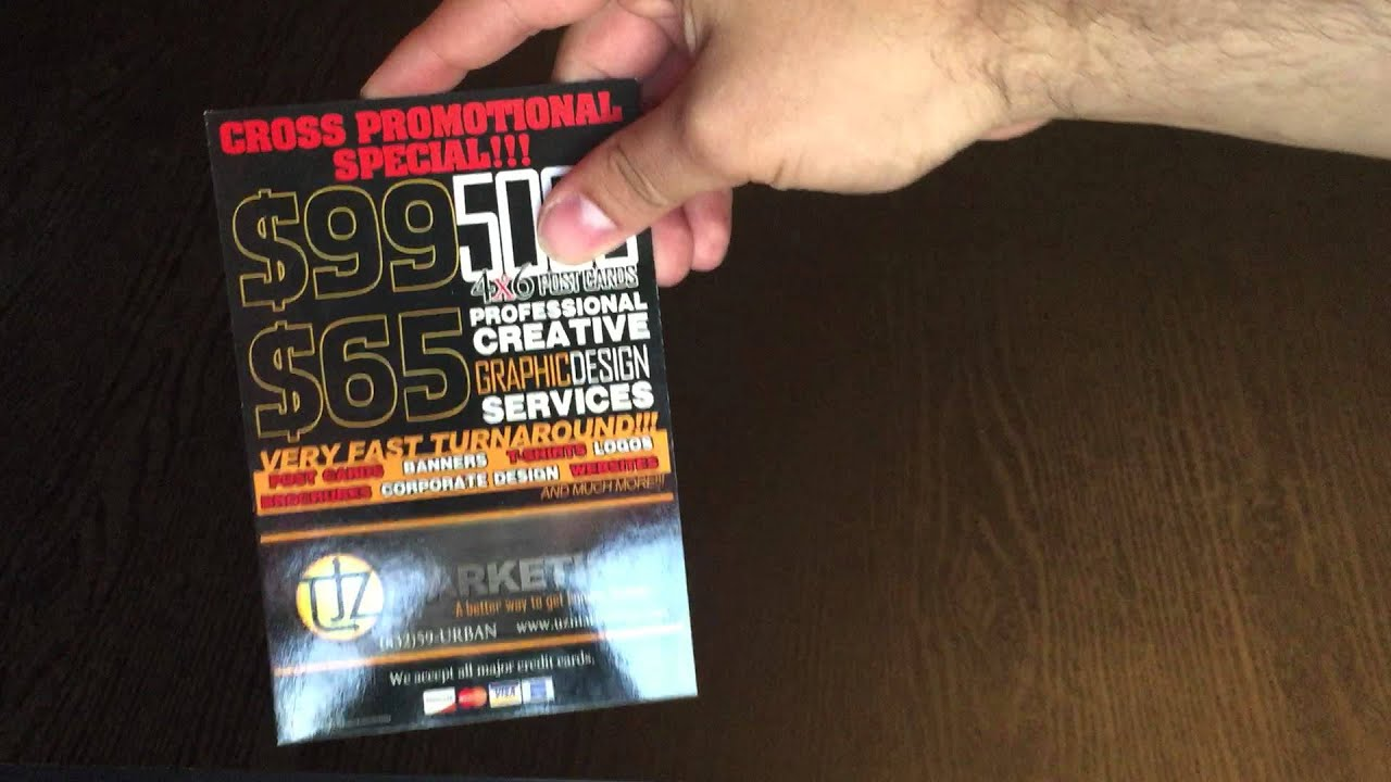 Postcards Flyers Printing Next Day Fast Turnaround Houston TX
