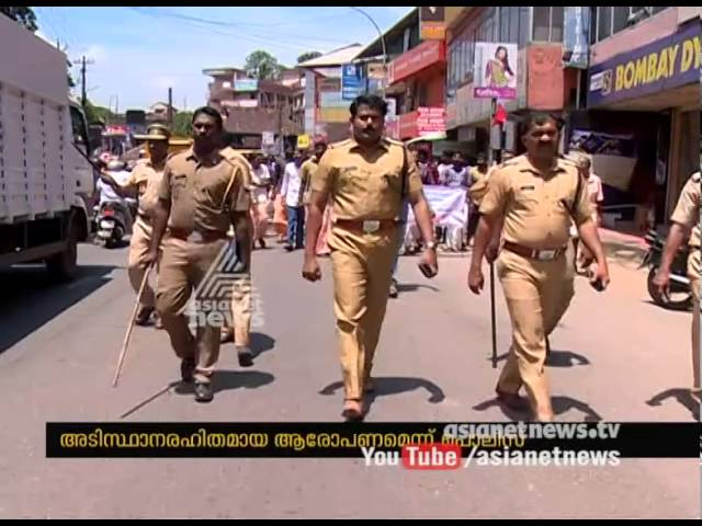 Strike by Tipper lorry, JCB owners in Chengannur