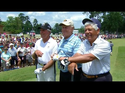 Jack Nicklaus, Gary Player and Lee Trevino's comments at Insperity Invitational