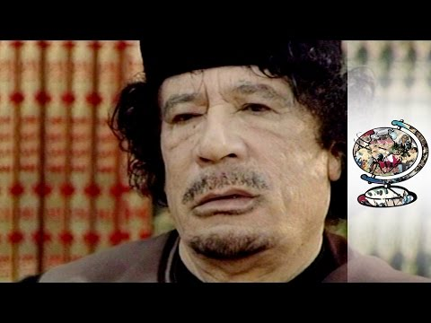 Muammar Gaddafi Interviewed Just Before Libyan Revolution (2010)