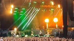 Iron Maiden 2016 Live Hämeenlinna Kantola Finland