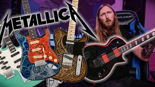 SWOLA43 - METALLICA CENSORED, GARY HOLT LTD, FENDER MASTERBUILT CUSTOM SHOP,