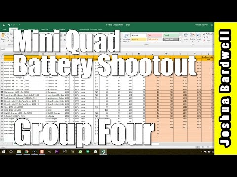 Drone Racing FPV LiPo Battery Comparison | GROUP FOUR RESULTS