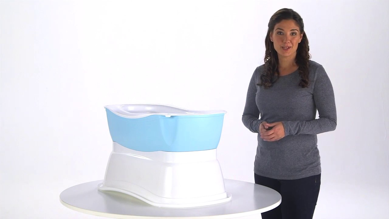 Summer Infant Right Height Bath Tub Product Video - YouTube
