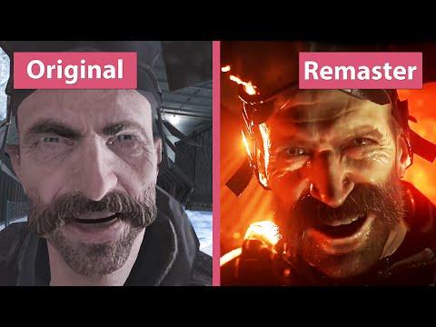 Comparação entre o antigo e o novo Call of Duty Modern Warfare