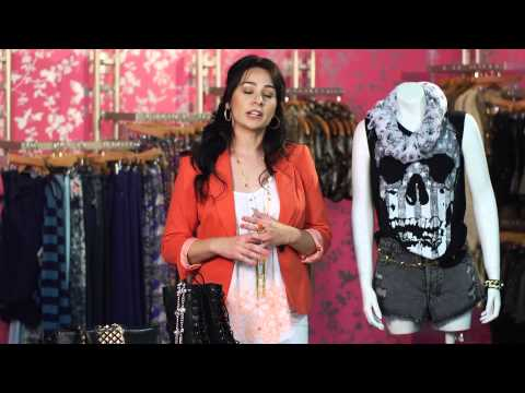 How to Dress Punk Teens : Women's Clothes & Fashion