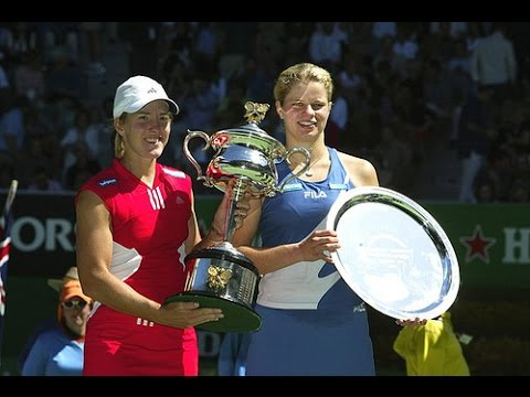 Justine Henin VS Kim Clijsters Highlight 2004 AO Final