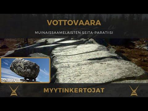 Vottovaara - muinaissaamelaisten seita-paratiisi