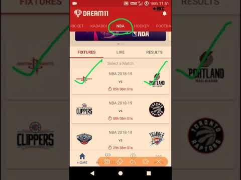 HOU VS POR VS HOU,hou vs por,dream11 team,NBA 2018,12.11.2018