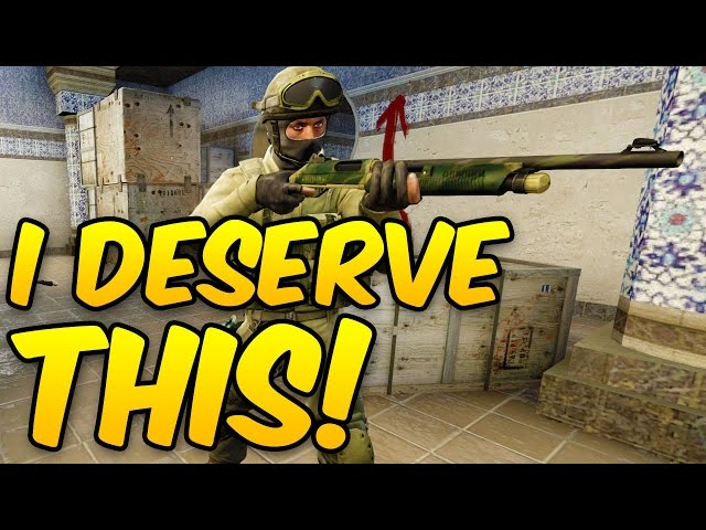 I DESERVE THIS! INSANE ESEA Competitive Game - CSGO