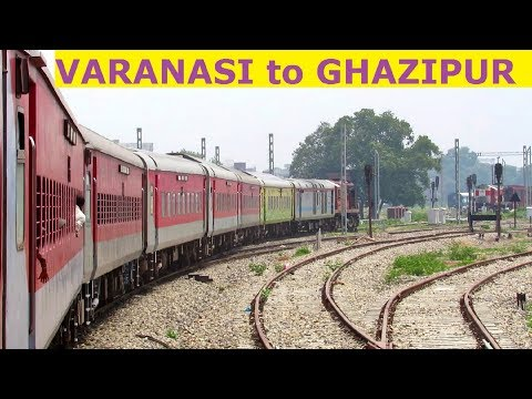 VARANASI to GHAZIPUR : Full Journey || 22323 SHABD BHEDI SF EXPRESS !!