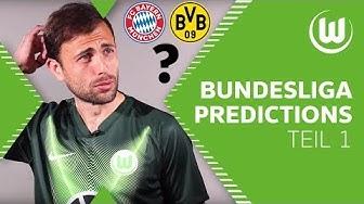 Bayern oder Dortmund: Wer wird Meister? | Bundesliga Predictions der Wölfe | Teil 1