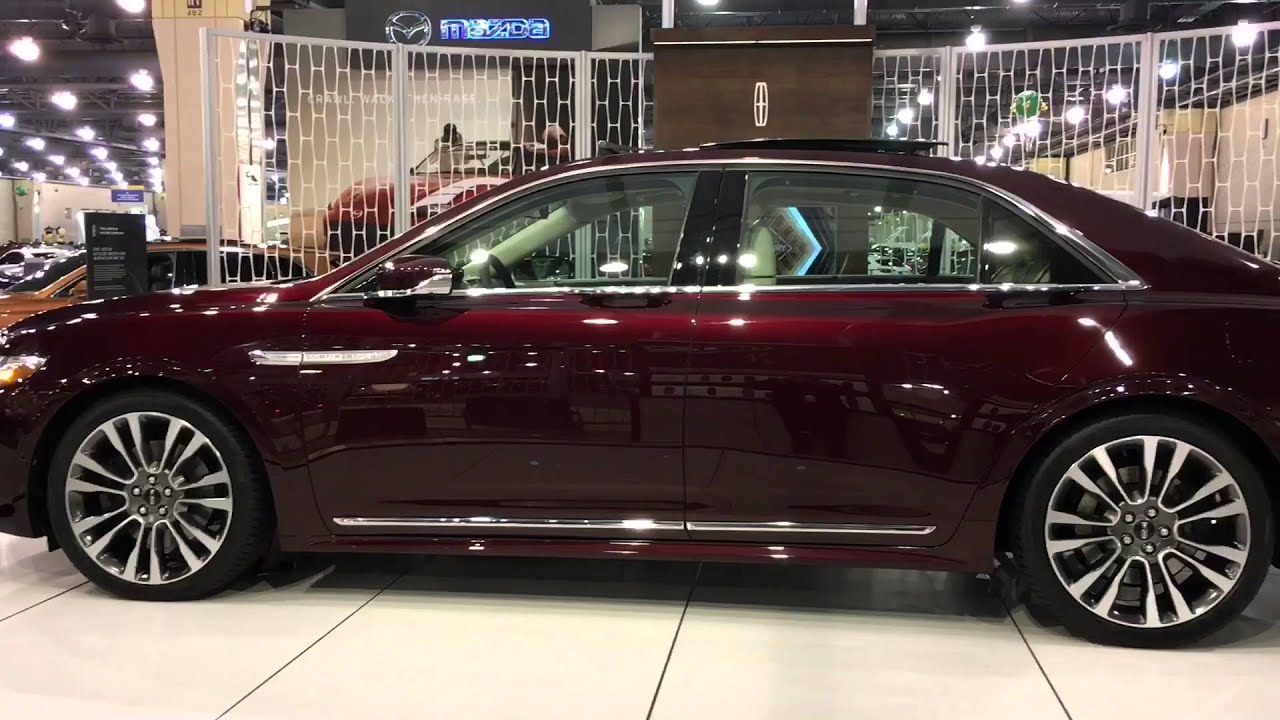 First Look At The 2017 Lincoln Continental Youtube