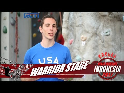 SASUKE NINJA WARRIOR INDONESIA - Josh Levin Di Warrior Stage [2 Desember 2017]