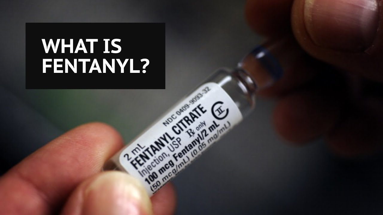 What Is Fentanyl The Opioid Drug 50 Times Stronger Than