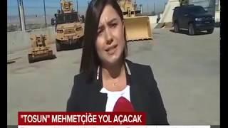 Best Grup / TOSUN Uzaktan Kumandalı Zırhlı Yükleyici / TRT Haber