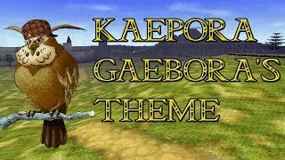 Kaepora Gaeboras Theme - Tloz : Ocarina Of Time  Guitar Cover