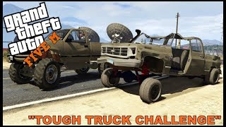 GTA 5 ROLEPLAY - CHEAP TOUGH TRUCK CHALLENGE  - EP. 335 - CIV