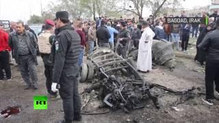 Les ravages de l'attentat à la voiture piégée à Bagdad