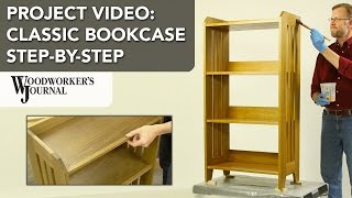 This step-by-step project video shows you how to build a classic oak bookcase. This bookcase can be built using dimension lumber