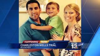 Charleston Wells takes the stand in own murder trial