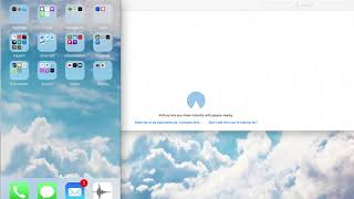 Airdrop -  Initial Setup for both iPhone & Mac   2017