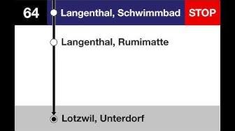Asmobil Ansagen - Langenthal Stadtbus Linie 64