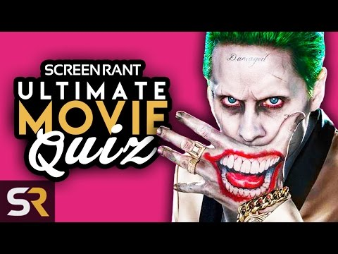 MOVIE CHALLENGE - Who Was SUPPOSED To Play The Joker In Suicide Squad?