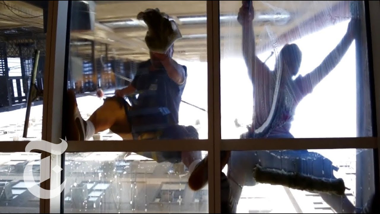 what its like to be a window cleaner in new york city the new york times youtube - Window Cleaner Job Description