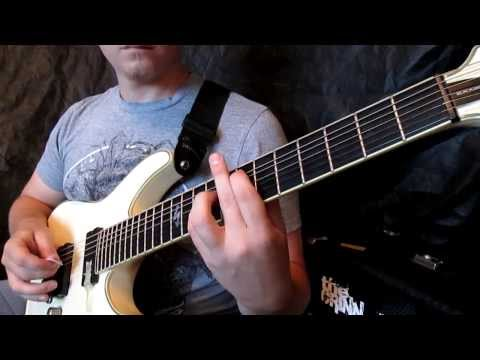 Mnemic - Deathbox (Guitar cover) / Schecter Blackjack ATX C-7 mp3