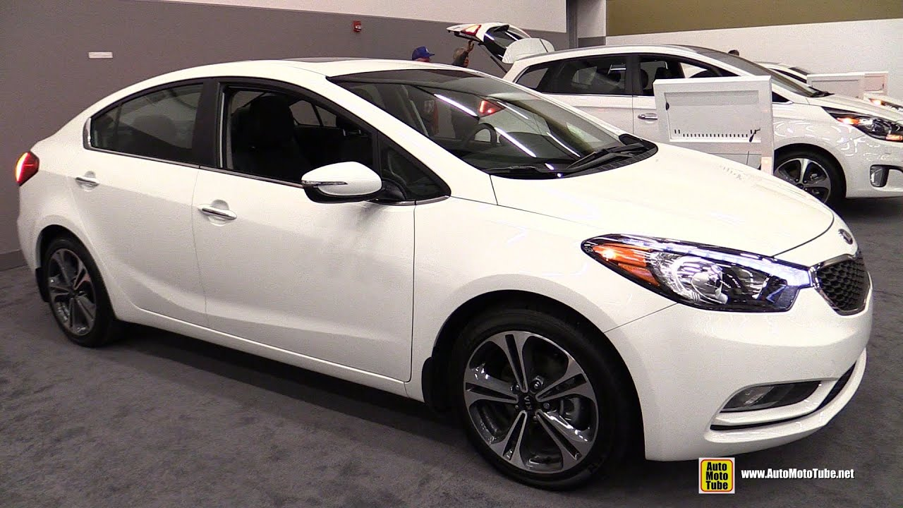 2015 Kia Forte Exterior And Interior Walkaround 2015
