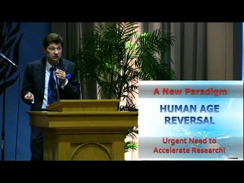 Human Age Reversal Presentation by Bill Faloon