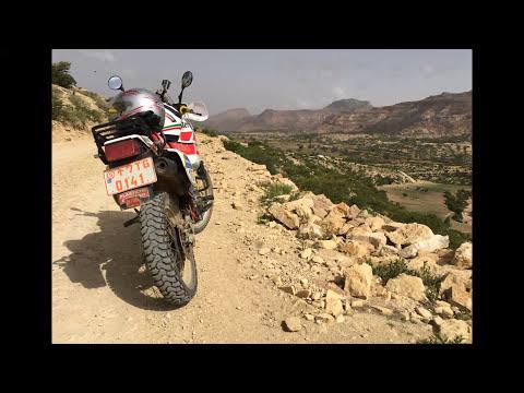 Yamaha Ténéré 600 in Ethiopia