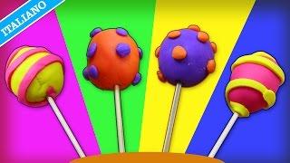 Come Fare i Lecca Lecca di Didò | How to Make Play Doh Lollipops | ...