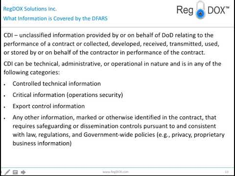 Solutions for DFARS | Be Compliant with DFARS 252 and NIST
