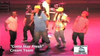 "Cream Team""Gotta Stay Fresh"" North Carolina Underground Music Awards performance"