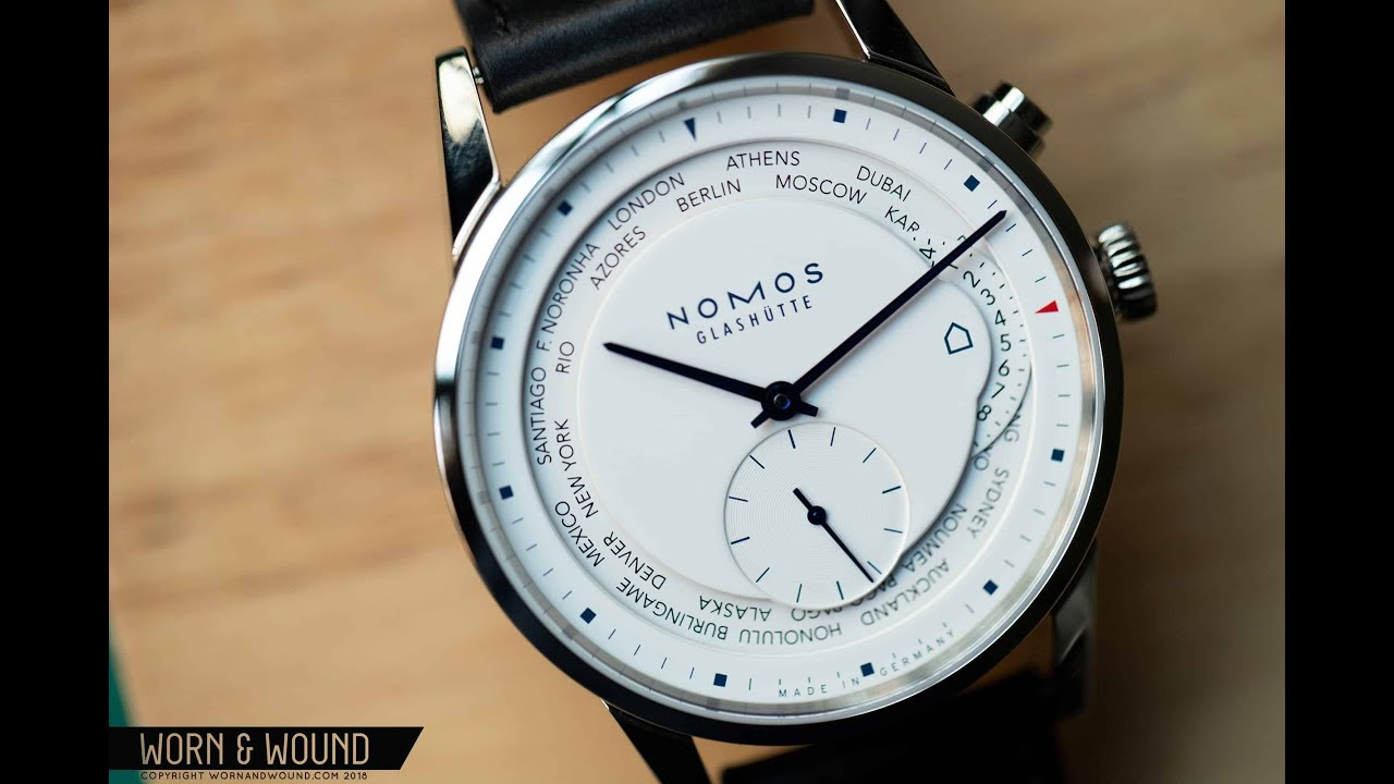 Watch Review Nomos Zurich Weltzeit Worldtimer Topper Edition