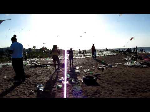 Georgetown Life, Guyana - Easter 2012 Garbage On The Beach