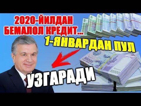 КУТИЛМАГАН ЯНГЛИК ЭНДИ ПУЛ ВА БАНКЛАР......
