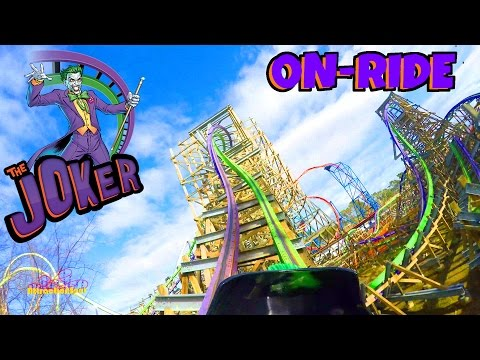 The Joker On-ride Front Seat (4K POV) Six Flags Discovery Kingdom