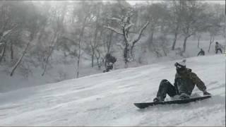 Snowboard Esqui park de Takasu Gifu-ken Japão