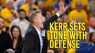 Kerr: Important to set defensive tone against Spurs thumbnail