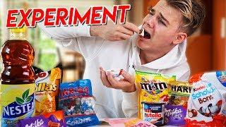 EINE WOCHE NUR Süßigkeiten ESSEN! 😱 - Selbstexperiment (Abbruch)