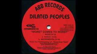 Dilated Peoples feat. Guru - Worst Come To Worst [Instrumental]