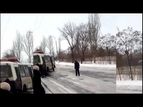 Результаты снегоборьбы в Торецке