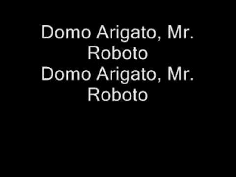 StyxMr Roboto Lyrics