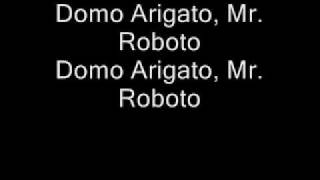 Play Mr. Roboto