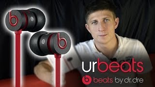видео Наушники Monster Beats UrBeats Blue (Синие)